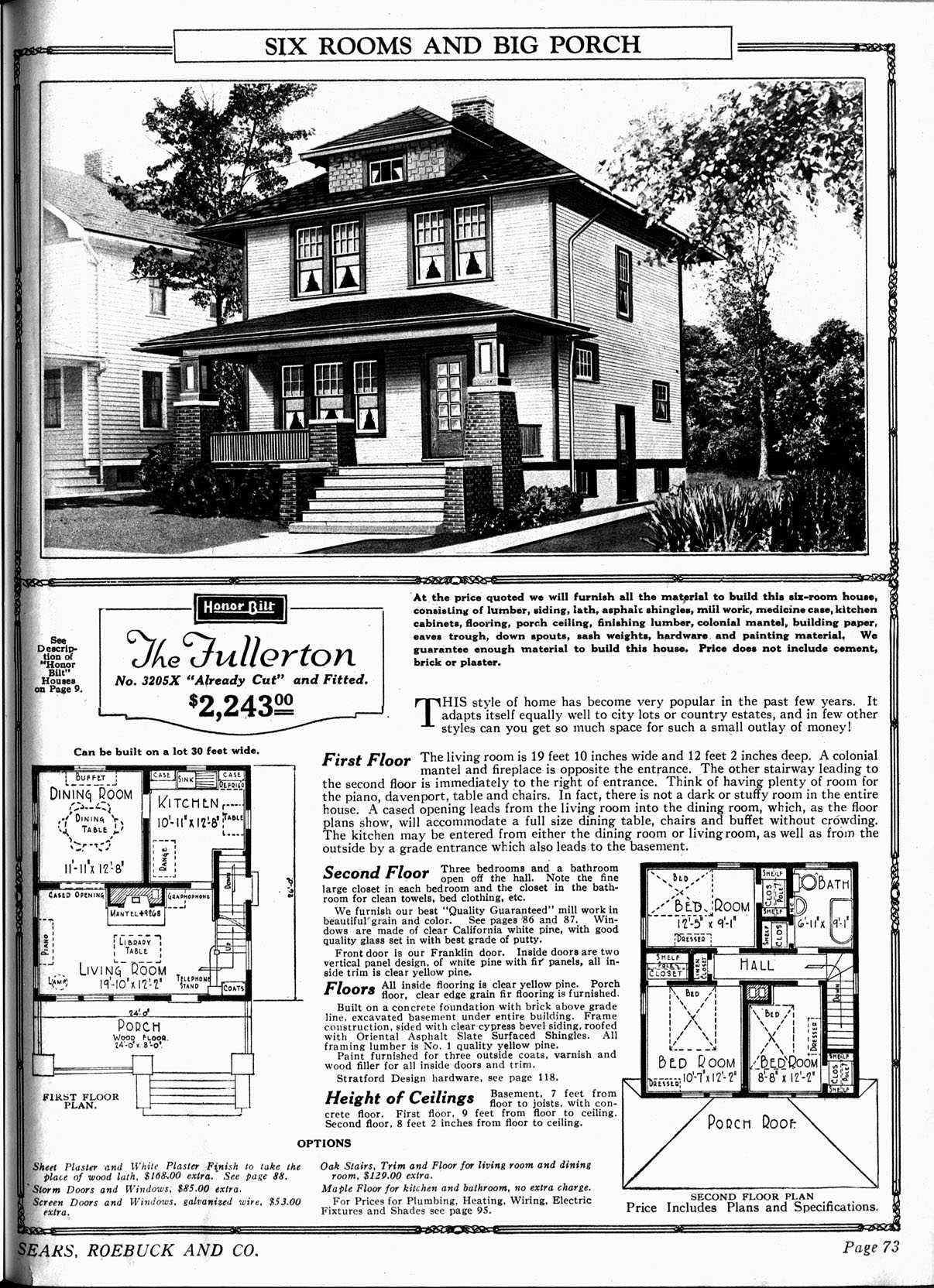 Charming The Fullerton   Sears Catalog Home