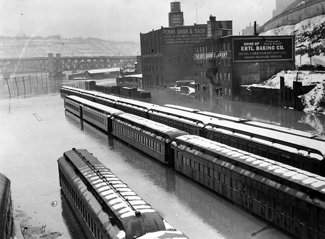 Pittsburgh S Golden Triangle 1936