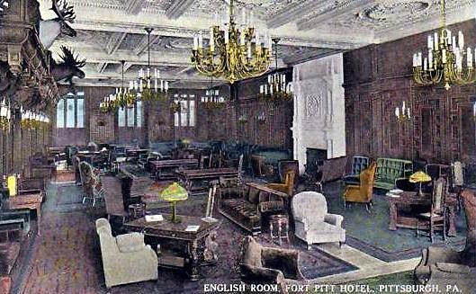 Etonnant ... Fort Pitt Hotel. The English Room ...