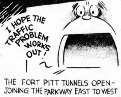 The Fort Pitt Tunnels