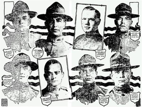a short history of pittsburgh and western pennsylvania soldiers in Civil War Infantry many of the brave leaders of the 28th division clockwise from upper left captain lucius m phelps lieutenant marshall l barron lieutenant john h