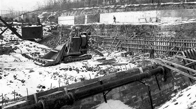 Moore Park Construction 1939 1940