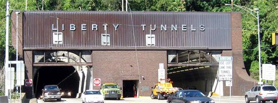The Liberty Tunnels and The Liberty Bridge