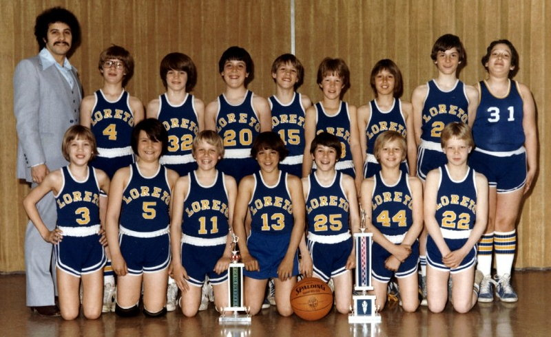Our Lady Of Loreto 6th Grade Boys - 1979