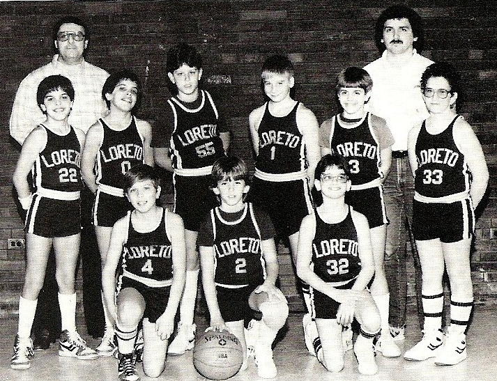 Our Lady Of Loreto Basketball Teams - 1985/1986