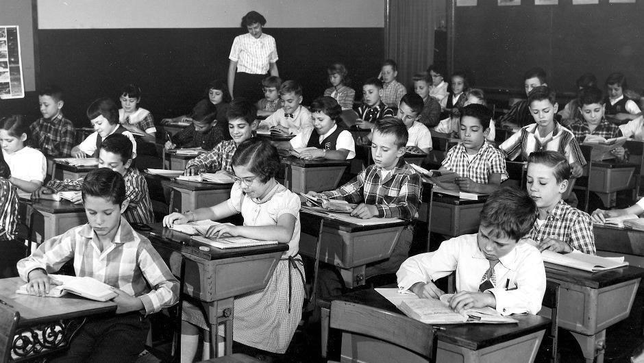 Resurrection School Days 1957