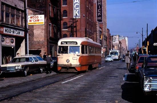 Trolleys Around Town Pittsburgh Pennsylvania